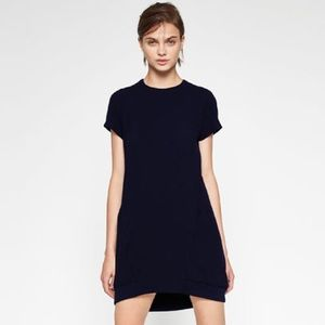 Zara Navy Dress